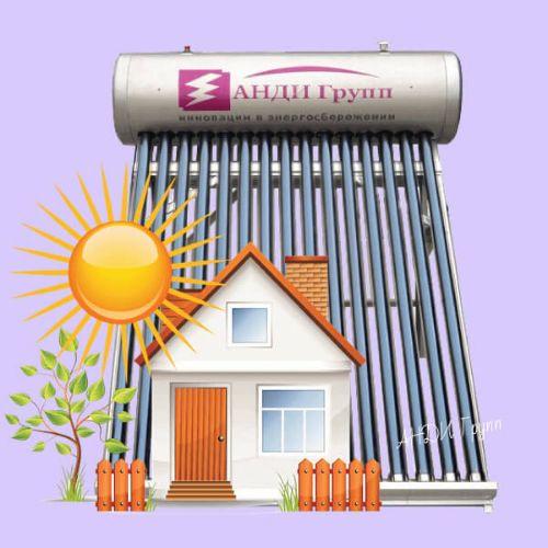 купить сезонный солнечный коллектор для бассейна Дача-Люкс