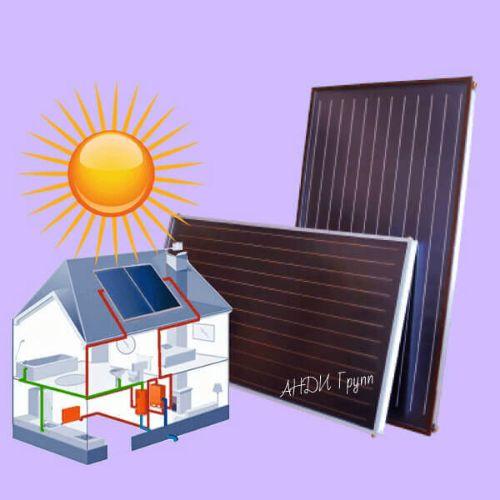 купить солнечный коллектор Сокол